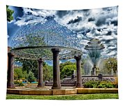 Wellspring Fountain - Council Bluffs Iowa Tapestry