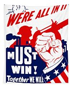 We're All In It - Ww2 Tapestry