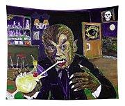 Werewolf Drinking A Pina Colada At Trader Vic's Tapestry