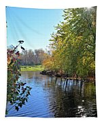 West Branch Iowa River Tapestry