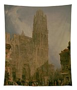 West Front Of Notre Dame Tapestry