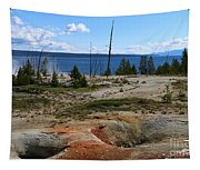 West Thumb Geyer At Yellowstone Lake Tapestry