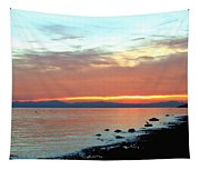 West Vancouver Sunset Tapestry