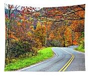 West Virginia Curves Tapestry