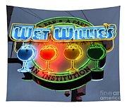 Wet Willie's Bar Tapestry