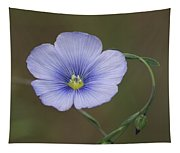 Western Blue Flax Tapestry