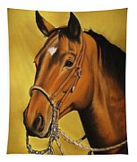 Western Horse Tapestry