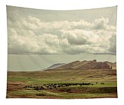 Western Storm Tapestry