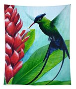 Western Streamertail Hummingbird Tapestry