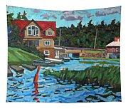 Westport Grist Mill Tapestry