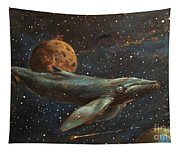 Whale Of The Universe Tapestry