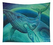 Whale Tohora By Reina Cottier Tapestry