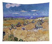 Wheat Fields With Reaper, Auvers Tapestry