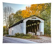 Wheeling Covered Bridge Tapestry