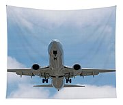Wheels And Flaps Down Tapestry