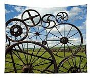 Wheels Tapestry