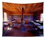 When School Was In 1-room Tapestry
