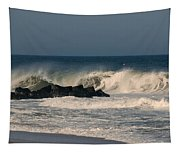When The Ocean Speaks - Jersey Shore Tapestry