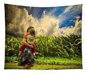When The Sun Comes After Rain Tapestry