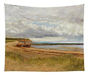 When The Tide Is Low  Maer Rocks, Exmouth, Tapestry