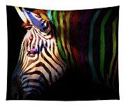 When Zebras Dream 7d8908 Square Tapestry