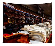 Where Cowboys Shop Tapestry
