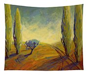 Where Evening Begins 2 Tapestry