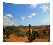 Where The Cactus Grow Tapestry