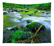Where The Golden Waters Flow Tapestry