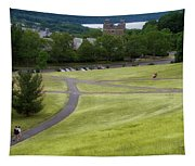 Where The Paths Cross Cornell University Ithaca New York Tapestry