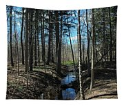 Where The White Tail Deer Run Tapestry