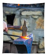 While The Iron Is Hot Tapestry