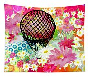 Whimsical Musing High In The Air Tapestry