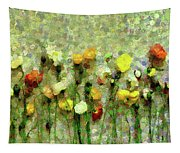 Whimsical Poppies On The Wall Tapestry