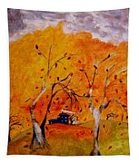 Whimsical Wind Tapestry