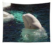 White Beluga Whale 1 Tapestry