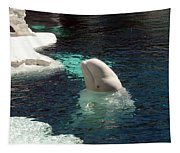 White Beluga Whale 3 Tapestry