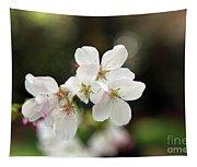 White Blossom  Tapestry
