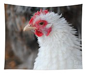 White Chicken Tapestry