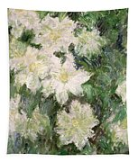 White Clematis Tapestry