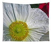 White Daffodil Tapestry