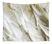 White Feathers With Gold Tapestry