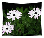 White Flowers In The Garden Tapestry
