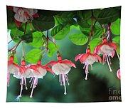 White Fuchsia Tapestry