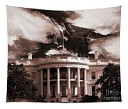 White House Washington Dc Tapestry