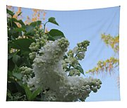 White Lilac Tapestry