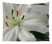White Lily 1 Tapestry