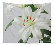 White Lily 2 Tapestry