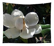 White Magnolia Flower 01 Tapestry