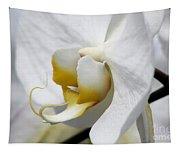 White Orchid Tapestry